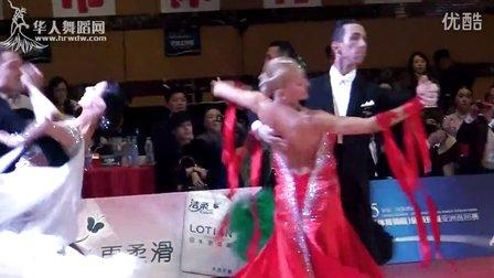 2015年WDC世界超级巨星亚洲巡回赛世界摩登舞职业公开组决赛探戈维克多冯 安娜斯塔西雅 344