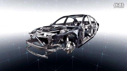 高清短片演示 宝马7系轻量化材质车身