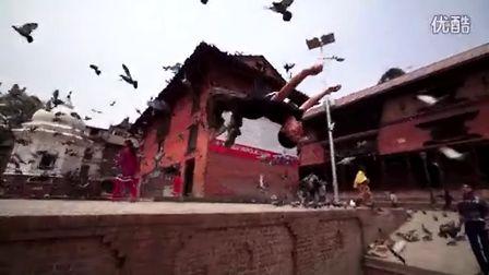 中国跑酷环球之旅第二站尼泊尔 地震让一别成永诀