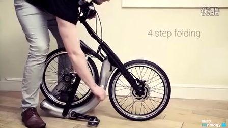 【触动力】无需车链的可折叠智能自行车Jivr Bike