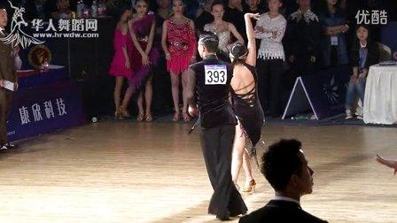 2015年中国体育舞蹈公开赛(武汉站)16岁以下组B级L决赛牛仔李楚豪 贾千千