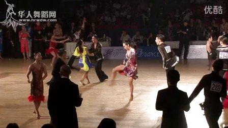2015年中国体育舞蹈公开赛(武汉站)B组L预赛牛仔2