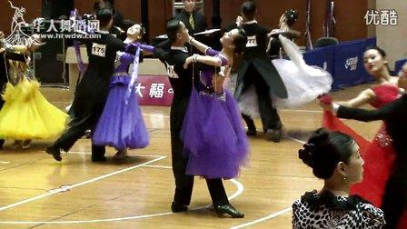 2015年CBDF中国杯巡回赛(上海站)专业18岁以下新星组M第一轮华尔兹郑岳林 于佳慧