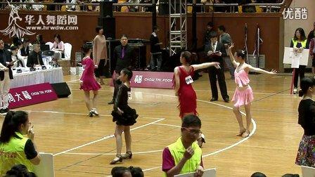 2015年CBDF中国杯巡回赛(上海站)业余16岁女单铜牌组L决赛伦巴