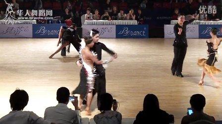 2015年中国体育舞蹈公开赛(武汉站)少年II组L决赛伦巴李岳帅 刘天爽