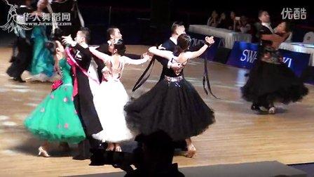 2015年中国体育舞蹈公开赛(武汉站)青年组6项全能组S第三轮快步638