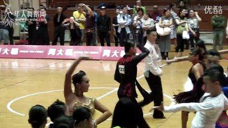 2015年CBDF中国杯巡回赛(上海站)21岁以下组L第二轮斗牛郑宏伟  郑雅心1