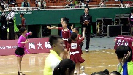 2015年CBDF中国杯巡回赛(石家庄站)业余10岁女单B组L决赛伦巴
