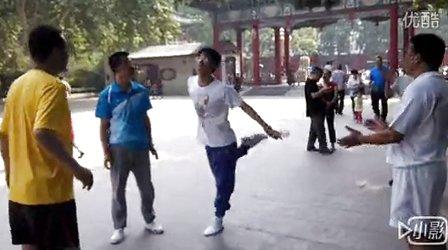 邯郸南派花毽一12-优酷视频老虎视频折图片