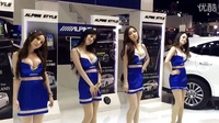 文明观球!!据说是泰国车展,模特的舞姿真醉人