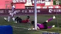 球进了守门员还在喝水,发现球进了一脸茫然。。。