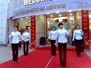 婚紗裙 攝影:綠太陽婚紗攝影員工練習晨操  抓錢舞