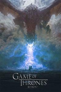 权力的游戏第七季海报