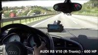 Audi R8 vs 川崎Ninja ZX10R vs 鈴木 GSXR1000