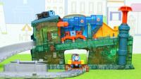托馬斯小火車制造工廠玩具分享 03