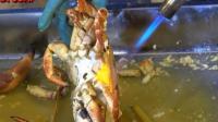 越南海鮮市場, 用火焰噴槍來烤螃蟹! 真的能烤熟么?
