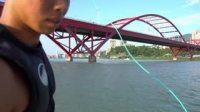 坐新船挑戰極極限寬板滑水,大疆無人機空拍記錄!