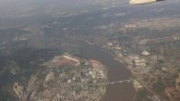 飛機上看長江畔的成渝鐵路9:13