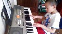 晓雯 王伟越电子琴《陕北民歌》