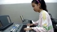 学生高赫电子琴《陕北民歌》演奏视频