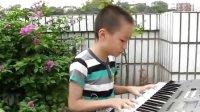 何希演奏电子琴七级《陕北民歌》