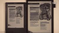 SONY DPT-S1商用電子紙與KINDLE DXG效果對比