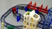 超級豪華大型拼裝軌道新干線軌道車6204電動玩具