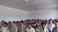 齊河縣巡回黨校教學點農村黨員重溫入黨誓詞