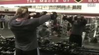 【豹哥健美】brofitnessteam街健团队成员肩部力量训练