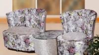 簡約現代小戶型客廳陽臺臥室布藝沙發凳子組合單雙人位實木小沙發