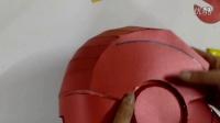 05(后腦及耳部裝飾)免裁剪6代鋼鐵俠頭盔制作教程