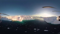 360度VR體驗格陵蘭島的冰山