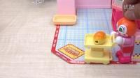 【日本代購】小豬佩奇 面包超人做面包