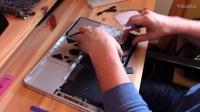 蘋果筆記本Macbook Pro系列更換鍵盤 更換開關按鈕 拆解安裝