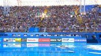 游泳世錦賽花游-自由自選混合分組預選賽 墨西哥隊高難度表演