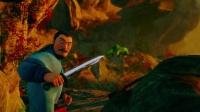 西游記之大圣歸來 兇猛山妖襲擊隊伍 將村民甩下山崖