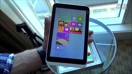 宏碁8.1寸Win8小平板Iconia W3开箱试玩