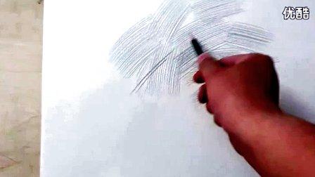 素描入門_握筆方法,線條的畫法